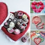 Put some love on your hook with these fabulous Valentine's Day crochet patterns!
