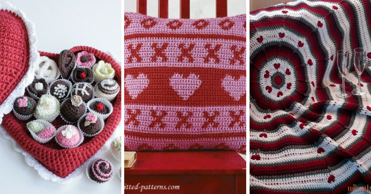 Valentines Day Crochet Patterns Projects To Put A Little Love On