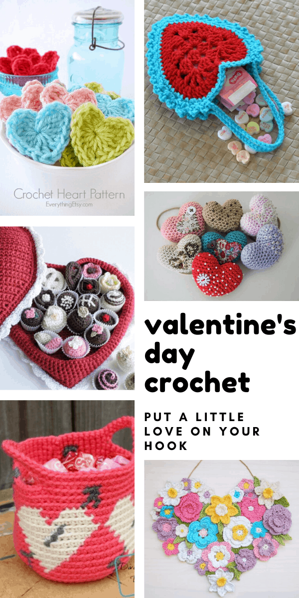 Loving these Valentine's day crochet patterns and projects I can make for family and friends this year!