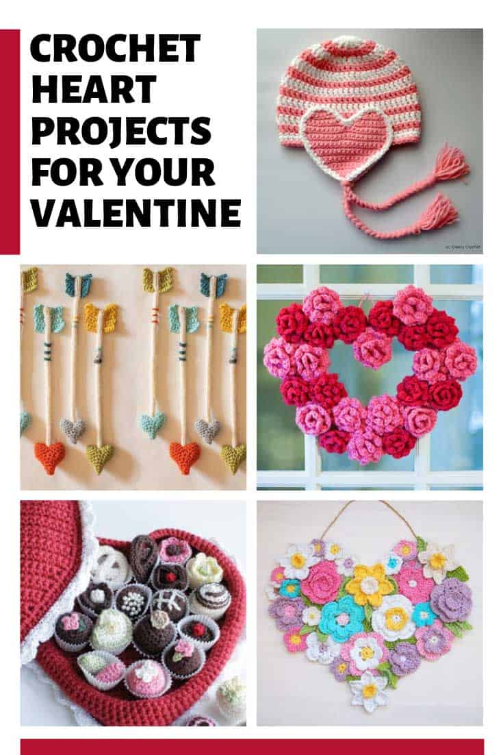 Loving these Valentine's Day crochet patterns and projects!