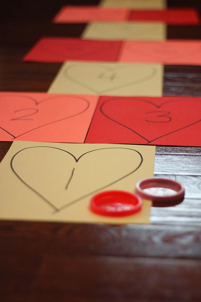 Heart Hopscotch: An Active Valentine's Day Learning Game - Toddler Approved!
