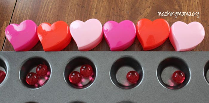 Water Beads for Valentine's Day - Teaching Mama