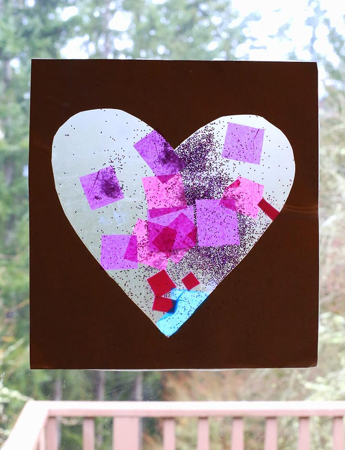 Easy Baby/Toddler Valentine's Day Art - Fun at Home with Kids