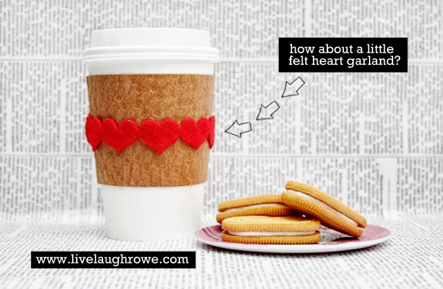 Kraft Coffee Sleeve Love - Live Laugh Rowe