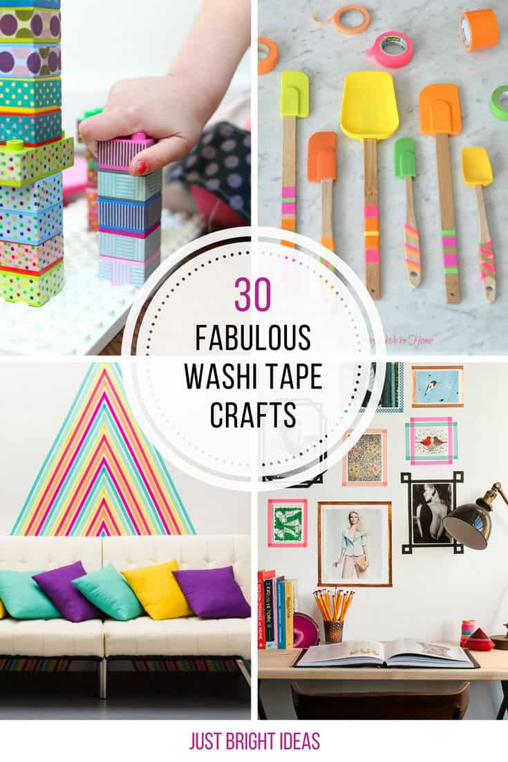 Loving these Washi tape crafts! Thanks for sharing!