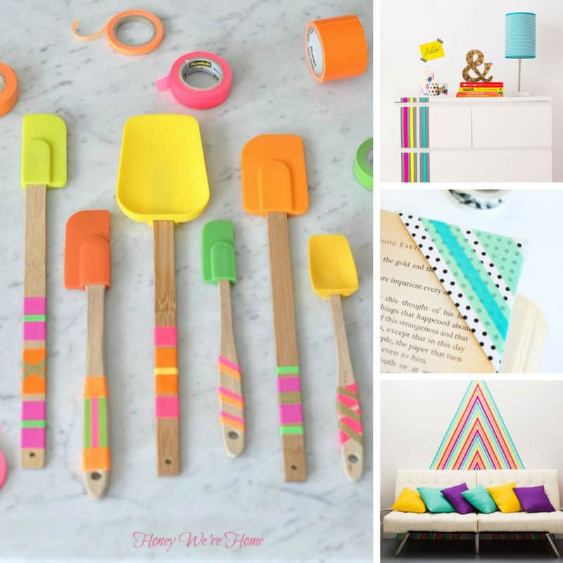 These Washi Tape crafts ideas are brilliant!