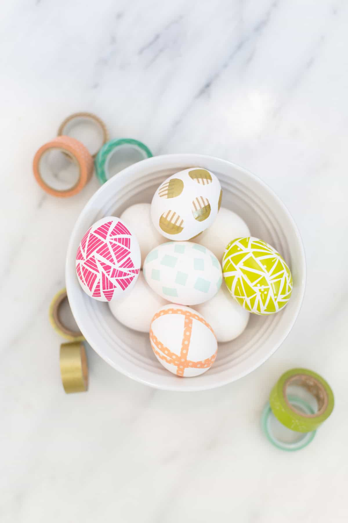 Four No-Dye Ideas to Decorate with Washi Tape