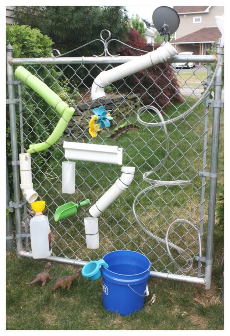 DIY Water Wall For Summer STEM