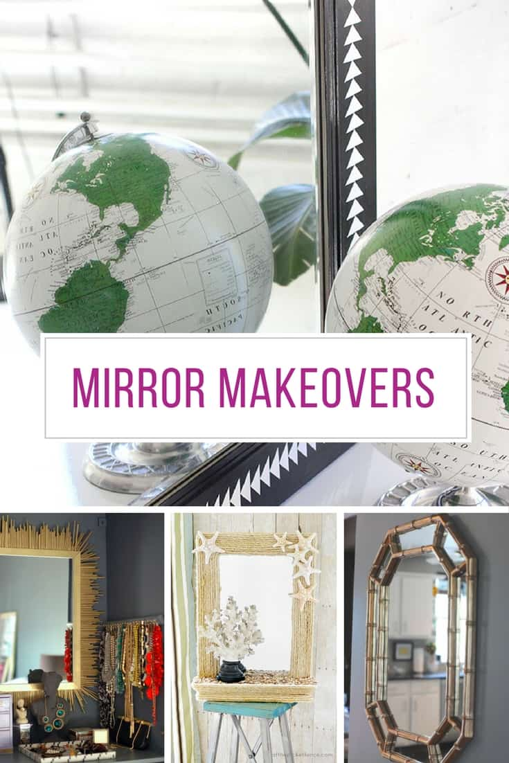Loving these ideas for updating mirrors! Thanks for sharing!