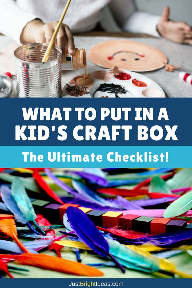 What to Put in a Kid's Craft Box - Pinterest