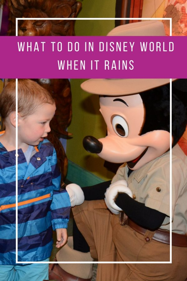 I always wondered what we could do in Disney World when it rains - Thanks for sharing!!