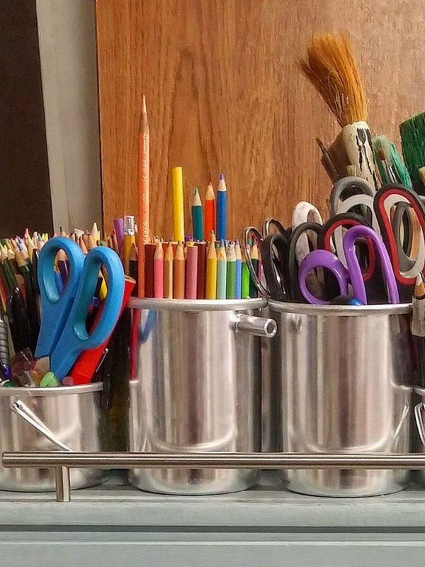 What to put in a kids craft box - ultimate checklist