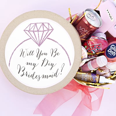 Will You Be My DIY Bridesmaid?