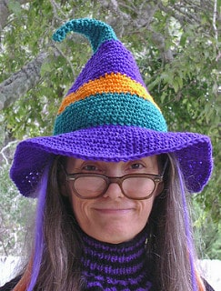 Witches hat crochet project