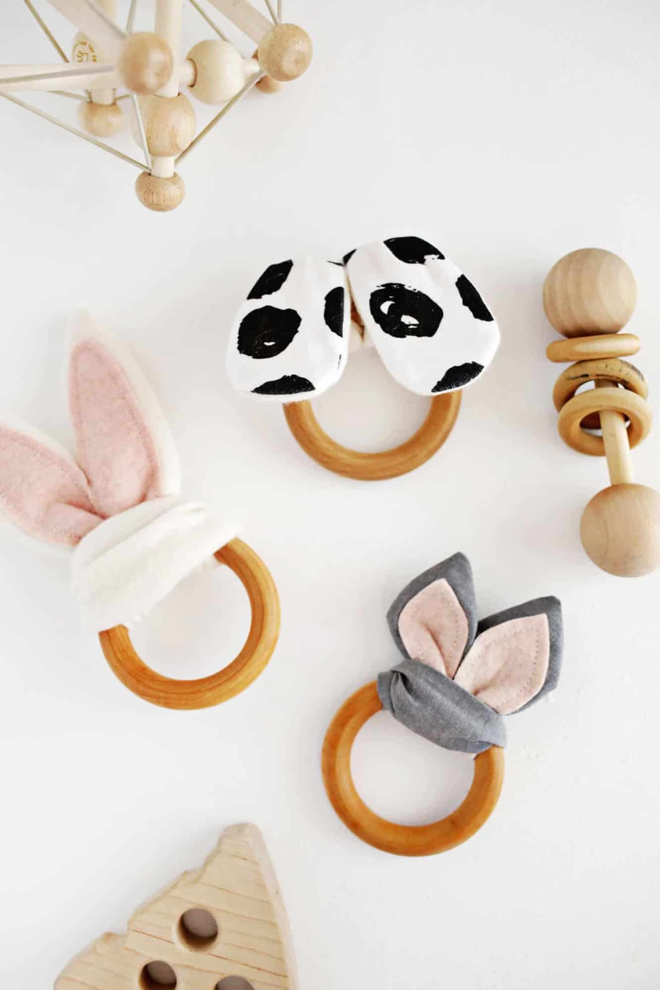 Wooden Ring Crinkle Teether DIY