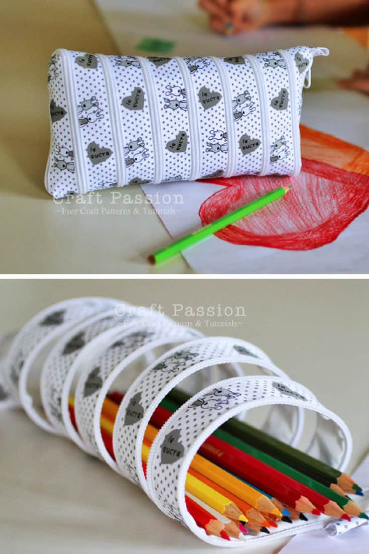Zip It Up Pencil Case Tutorial