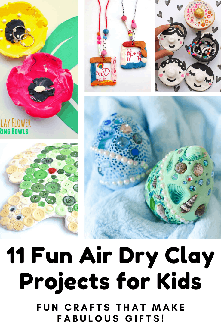 Need something fun to do with the kids this weekend? Try one of these air dry crafts - the dragon eggs are brilliant for boys and girls! #kidcrafts