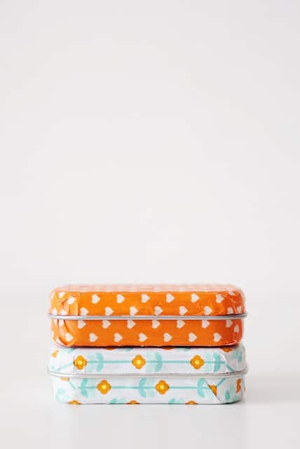 Altoid Tin: Decorate it with Washi tape
