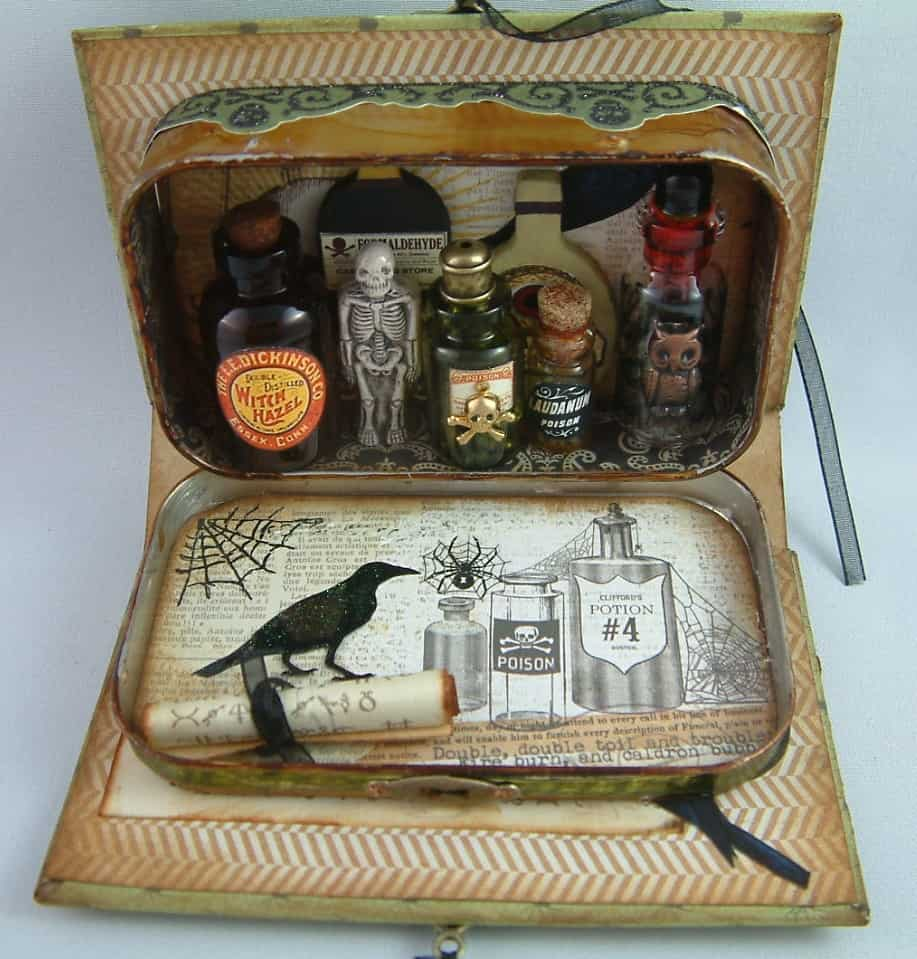 Altoid Tin: Turn it into a mini apothecary
