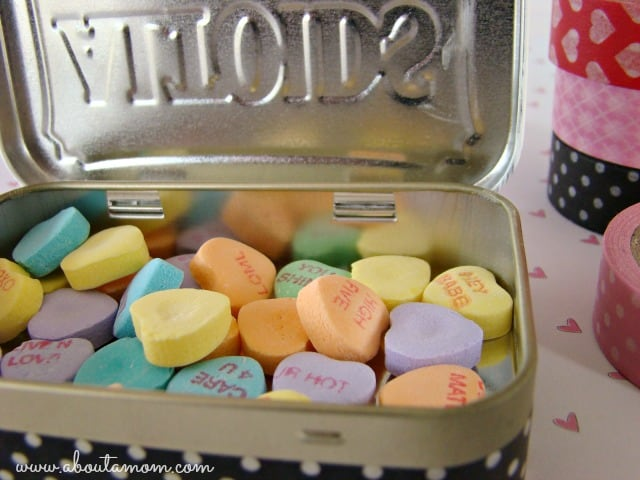 Altoid Tin: Make them over into a Valentine's gift