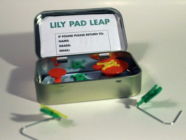 Altoid Tin Toys: Make a Lily Pad Leap game