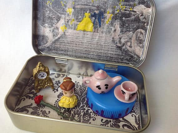 Altoid Tin Toys: Fill it with a Beauty and the Beast playset