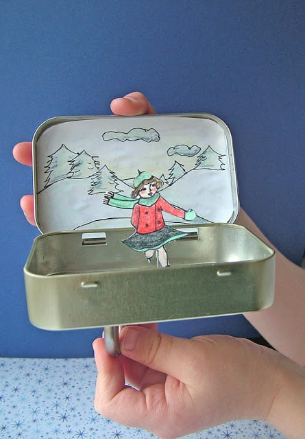 Altoid Tin Toys: Make a skating rink