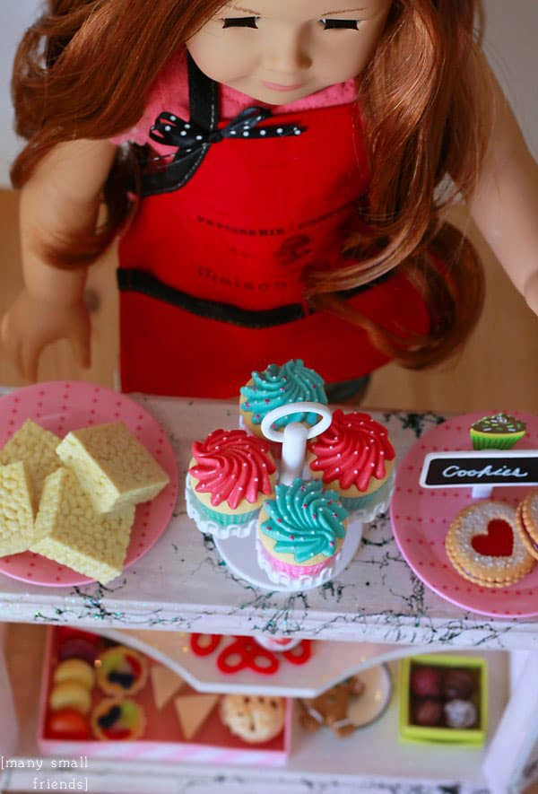 DIY Lighted Bakery Case for Dolls
