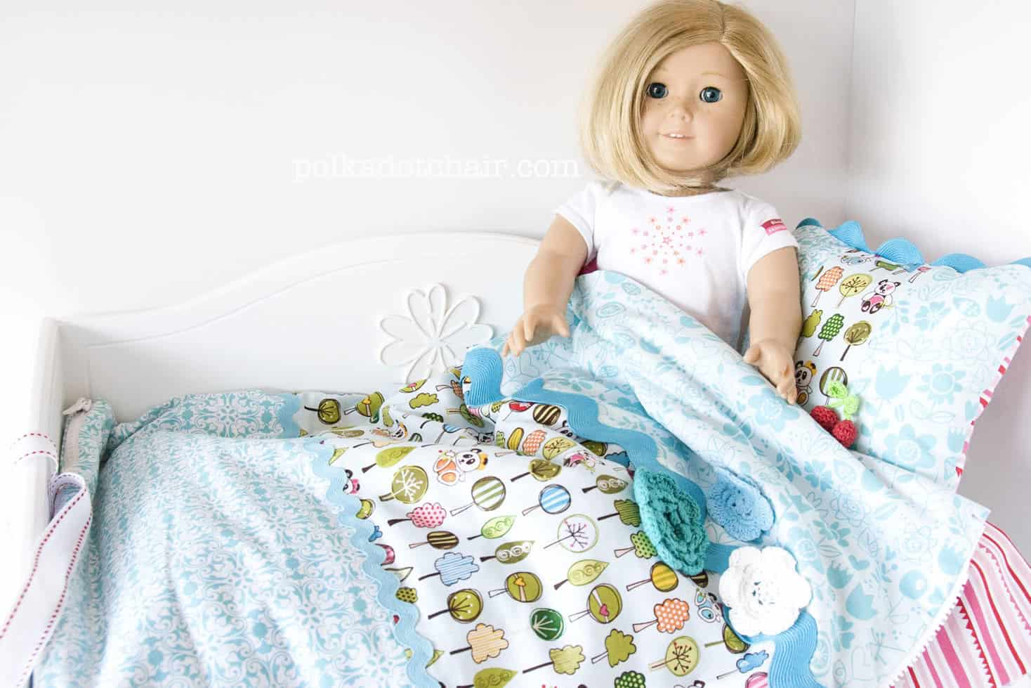American Girl Doll Sleeping Bag Sewing Tutorial<
