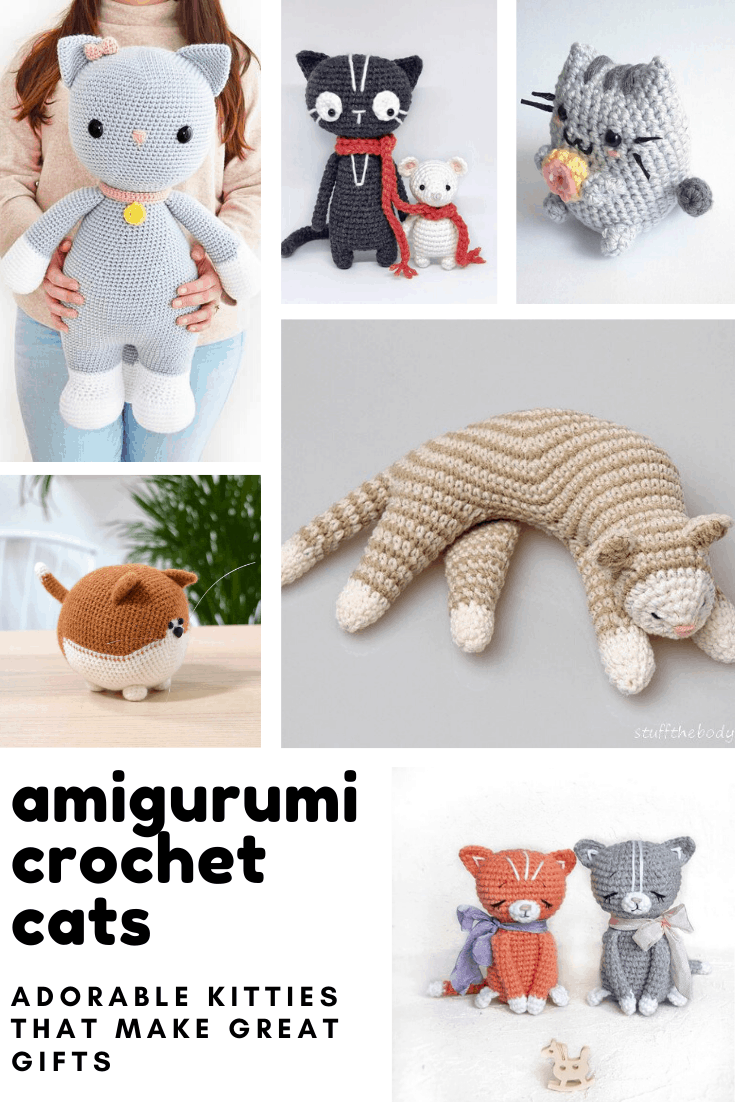 How cute! Loving these adorable amigurumi cats - and the crochet patterns are easy to follow! These will make lovely handmade gifts