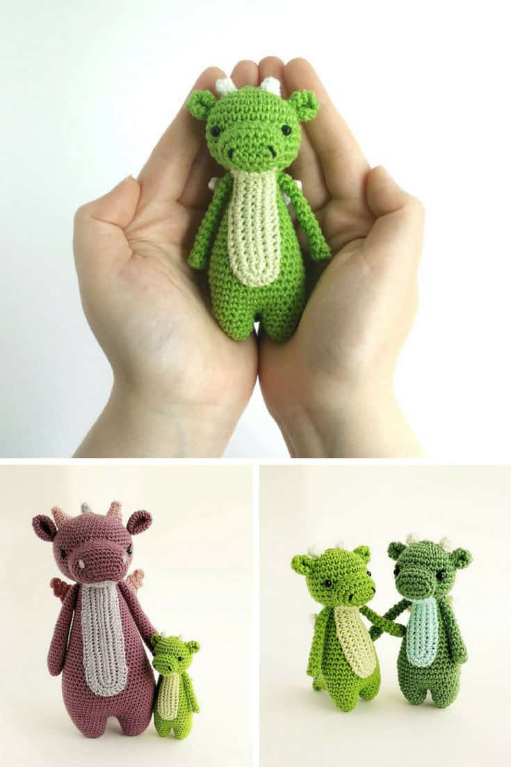 Mini Amigurumi Dragon