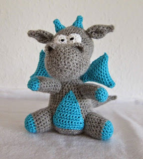 Free Knitted Crochet African Flower Pattern Dragon : 22 Totally Adorable Amigurumi Dragon Patterns You Need to ...