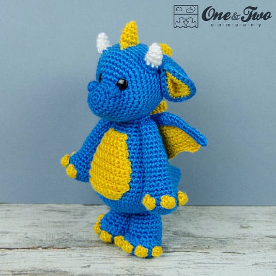 Felix the Baby Dragon Amigurumi