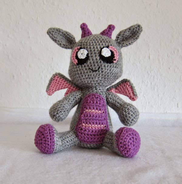 22 Totally Adorable Amigurumi Dragon Patterns You Need to ...