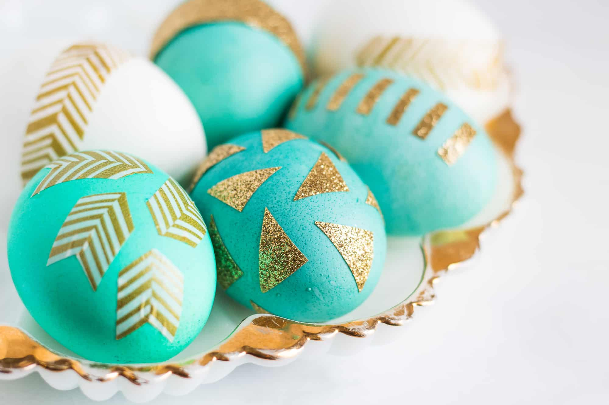 Anthropologie Style Easter Eggs