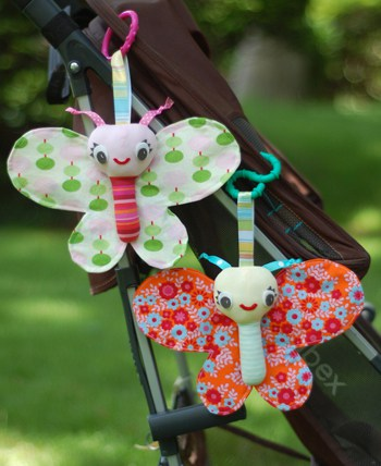 Baby Butterfly Tutorial