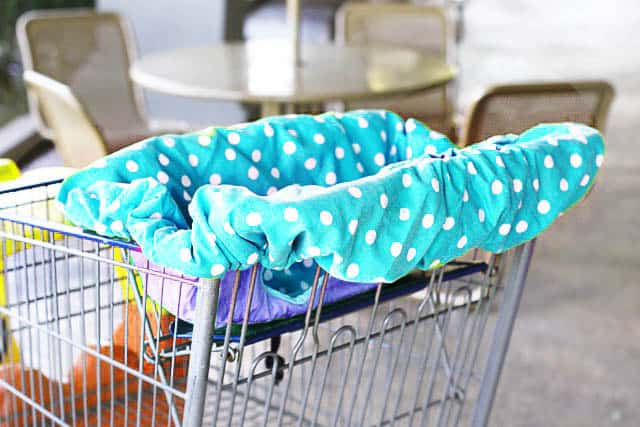Universal Shopping Cart and High Chair Cover