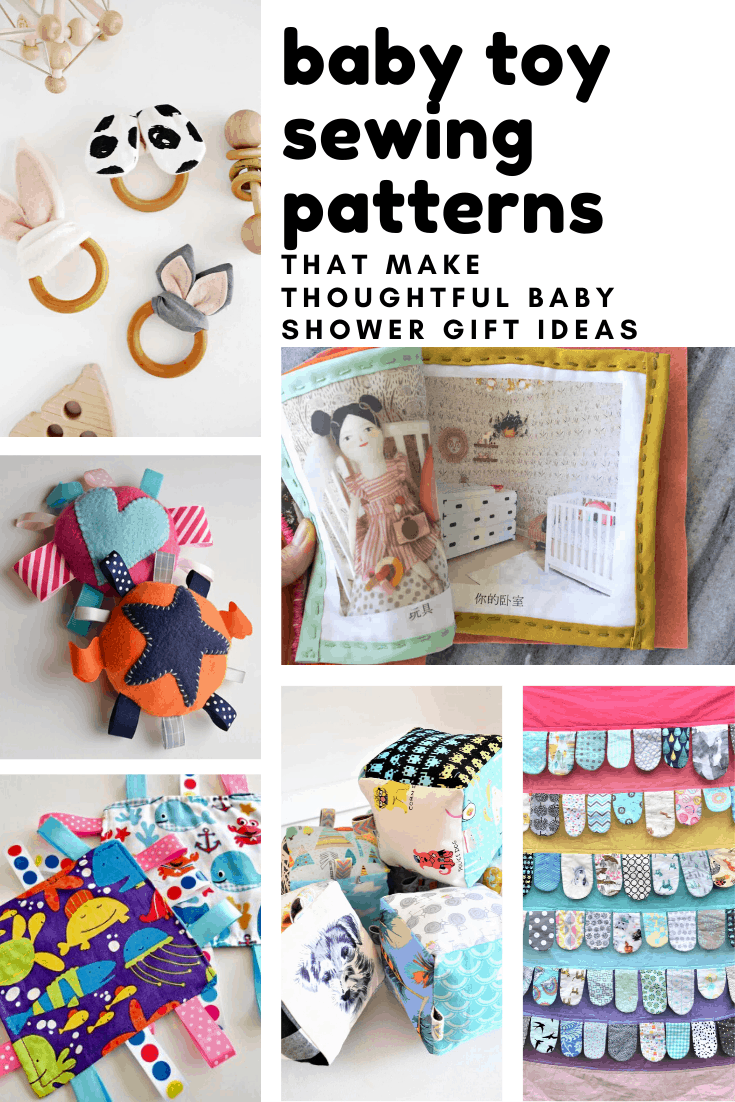 Loving these baby toy sewing patterns! Easy to follow and they make wonderful baby shower gift ideas!