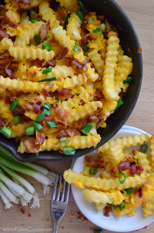 Bacon Cheddar Fries | Appetizer | Big Game