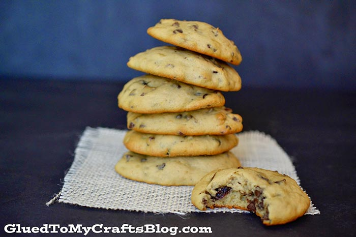 Chocolate, Cranberry, Banana Bread Cookies