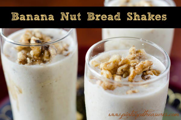 Banana Nut Bread Milkshakes