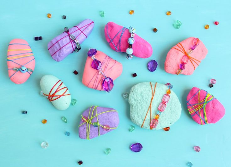 Mother's Day Painted Rocks DIY