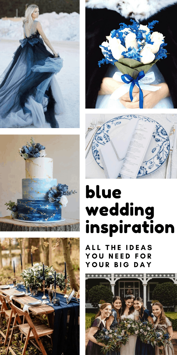 Wow so many gorgeous ways to bring classic blue into your wedding