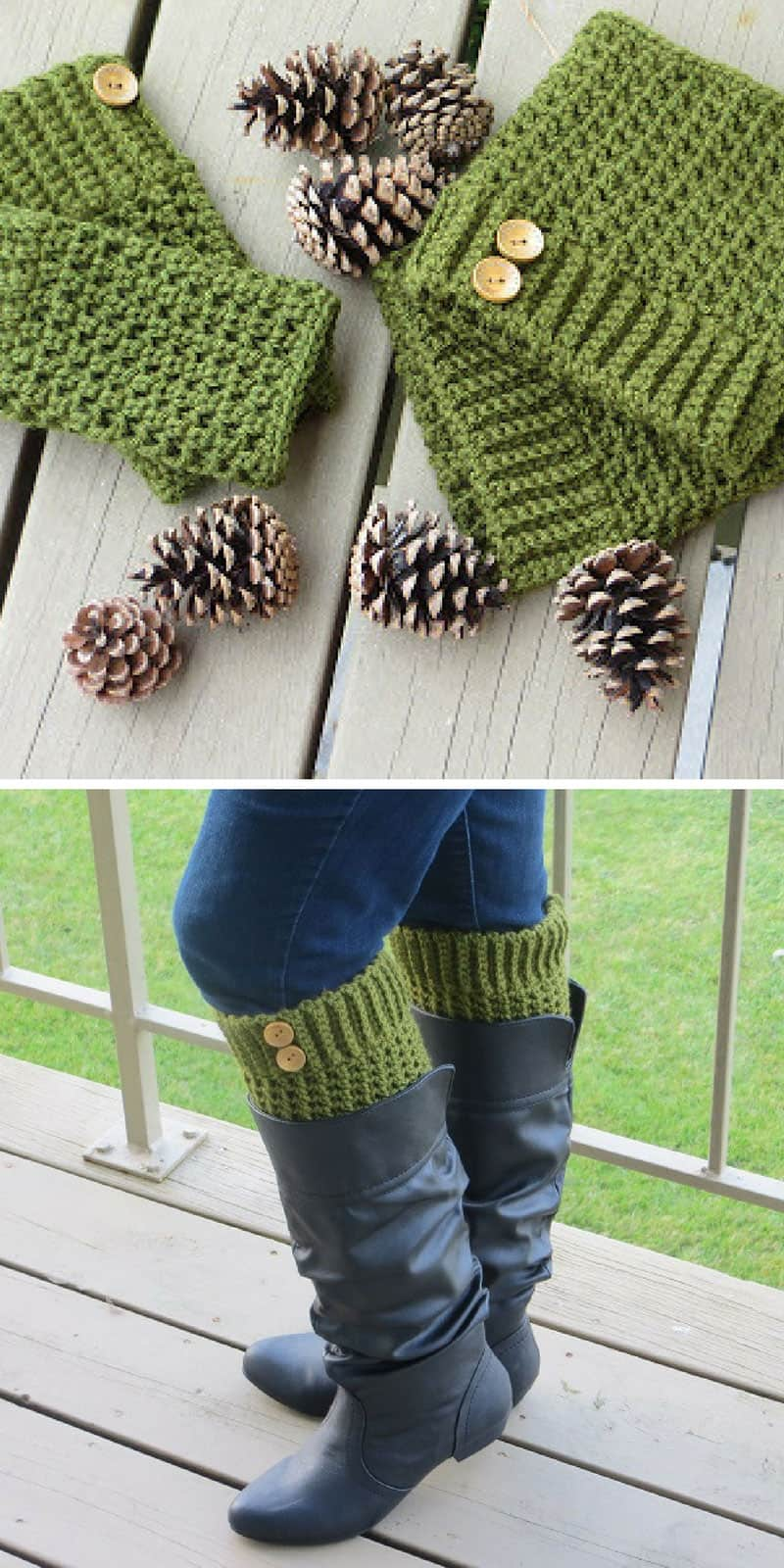 Brooklyn Boot Cuff Crochet Pattern