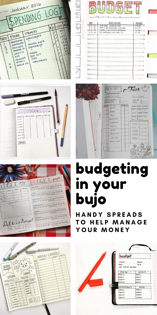 These bullet journal budgeting spreads are just what you need to get a handle on your finances and make sure you don't overspend