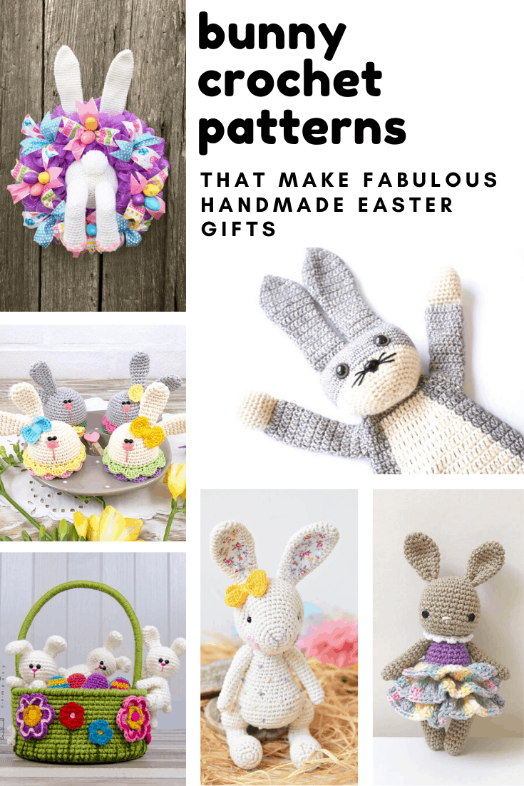 Loving these bunny crochet patterns! So many cute rabbits that will make wonderful handmade Easter gifts!