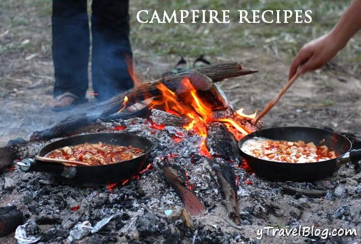Campfire Paellla and Tips for Cooking Over an Open Fire