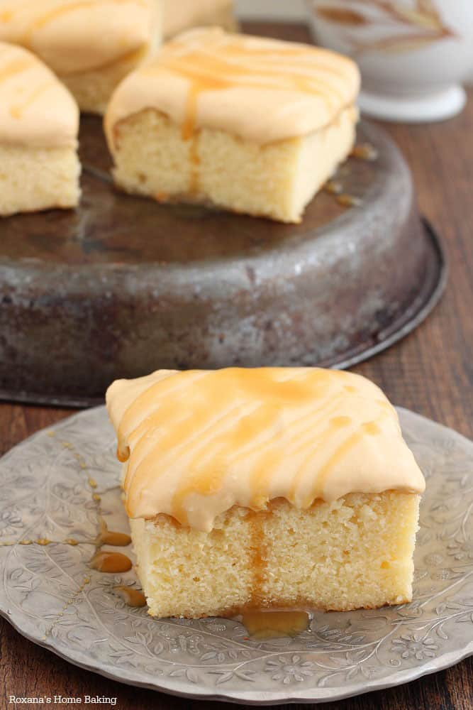 Caramel Yogurt Cake