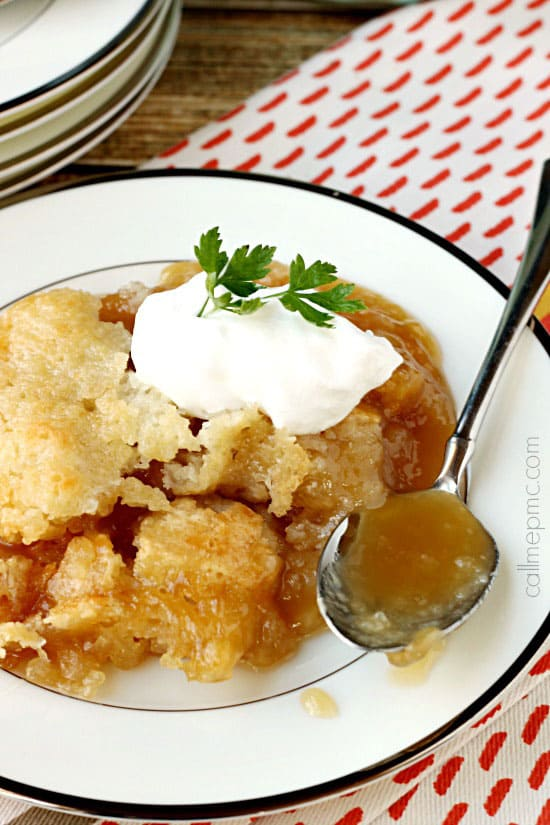 PMc's Caramel Cobbler Recipe