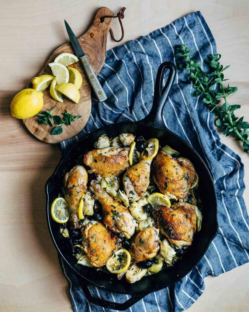 Cast iron Skillet Chicken